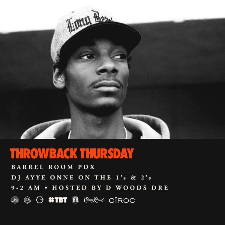 Throwback Thursdays @ Barrel Room | Abilene | Kansas | United States