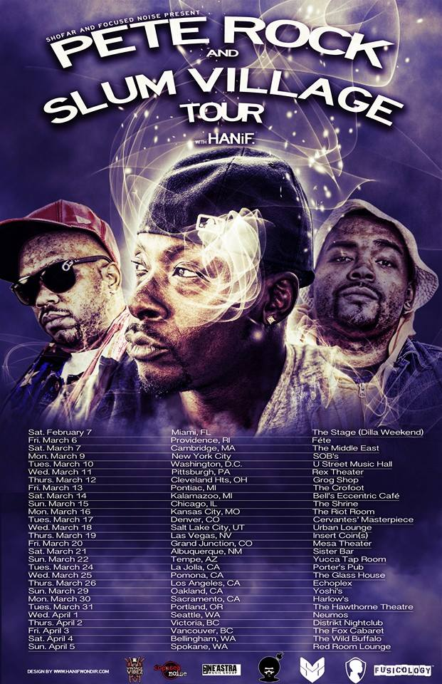 HANiF Luck One tour dates