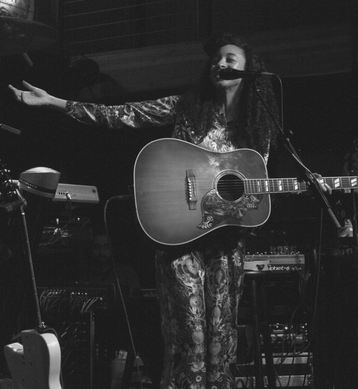 Corinne Bailey Rae performing at Mississippi Studios. Photo: Jenni Moore